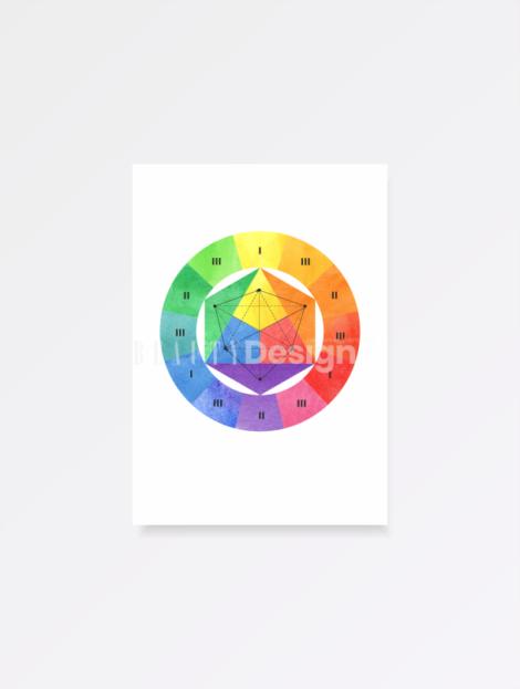 цветовой круг иттена купить