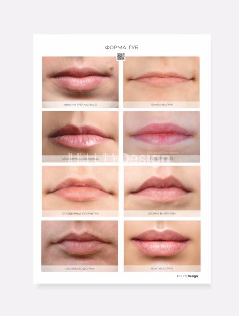 формы губ для перманентного макияжа